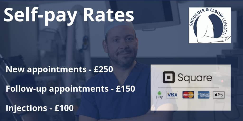 Self pay fees